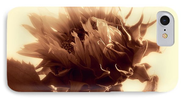 IPhone Case featuring the photograph Sunflower - Au Revoir by Janine Riley