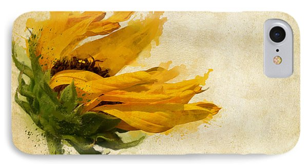 Sunflower Breezes IPhone Case by Nikki Marie Smith