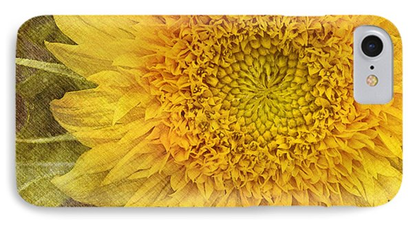 Sunflower IPhone Case by Carrie Cranwill