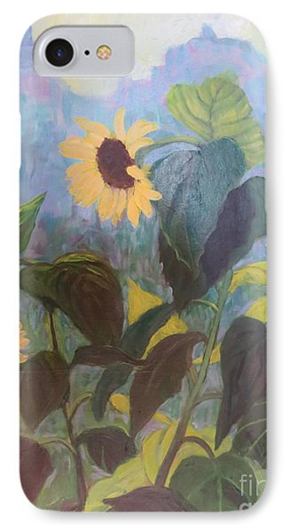 Sunflower City 1 IPhone Case