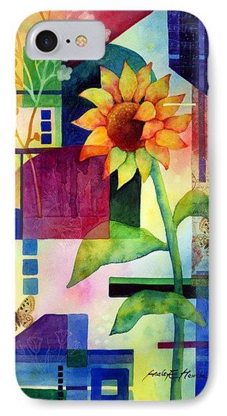 Sunflower Collage 2 IPhone Case by Hailey E Herrera