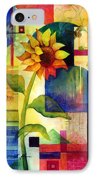 Sunflower Collage IPhone Case by Hailey E Herrera