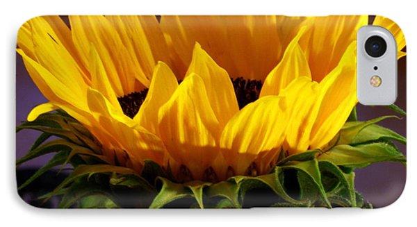 Sunflower Crown IPhone Case
