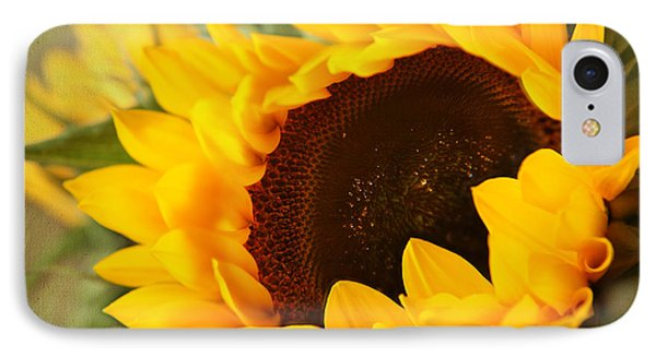 IPhone Case featuring the photograph Sunflower by Eden Baed