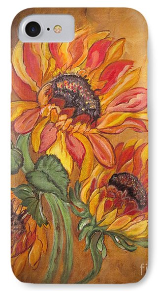 Sunflower Enchantment Phone Case by Ella Kaye Dickey