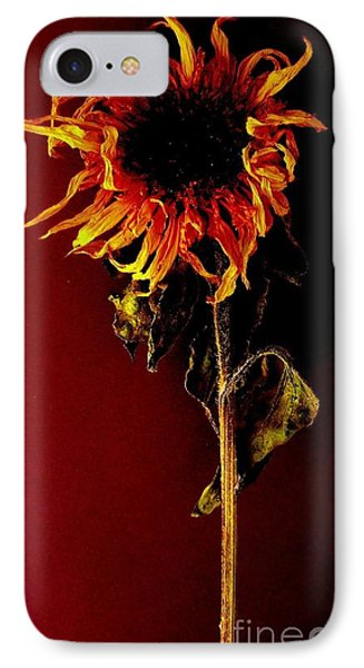 IPhone Case featuring the photograph Sunflower by Fred Wilson