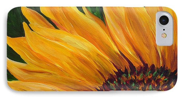 Sunflower From Summer IPhone Case