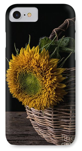 Sunflower In A Basket IPhone Case