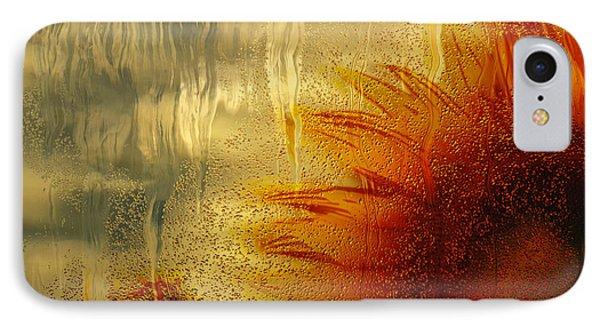 Sunflower In The Rain IPhone Case