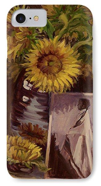 Sunflower IPhone Case by Jane Thorpe