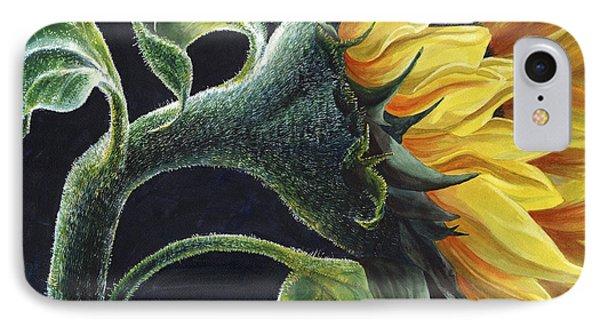 Sunflower IPhone Case by Karen Wright