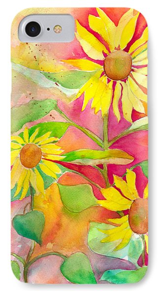 Sunflower IPhone Case by Kelly Perez