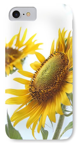 Sunflower Perspective Phone Case by Kerri Mortenson