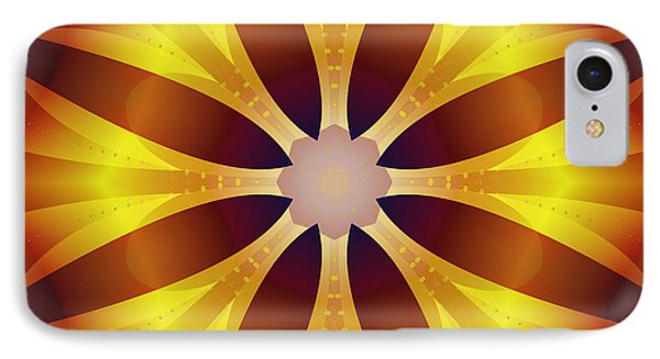 IPhone Case featuring the digital art Sunflower Rose by Mario Carini