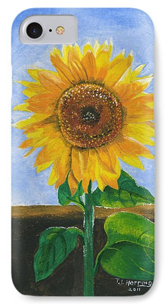 Sunflower Series Two IPhone Case by Thomas J Herring
