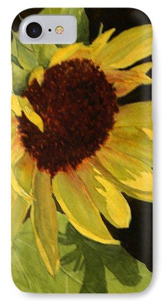 Sunflower Smile IPhone Case
