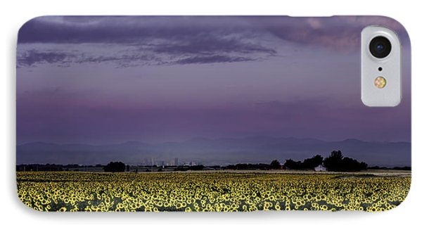 IPhone Case featuring the photograph Sunflower Sunrise by Kristal Kraft