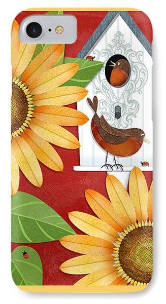 Sunflower Surprise IPhone 7 Case