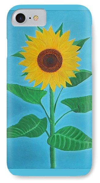 Sunflower Phone Case by Sven Fischer
