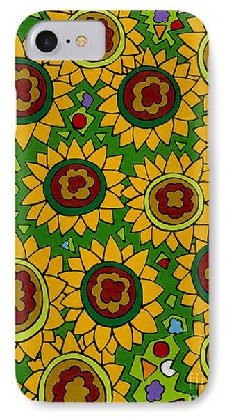 Sunflowers 2 IPhone Case by Rojax Art