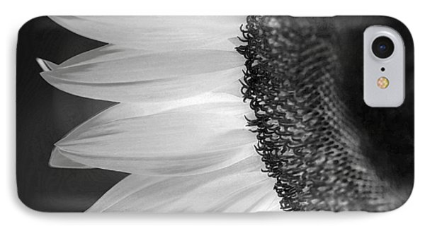 Sunflowers Beauty Black And White IPhone Case by Sandi OReilly