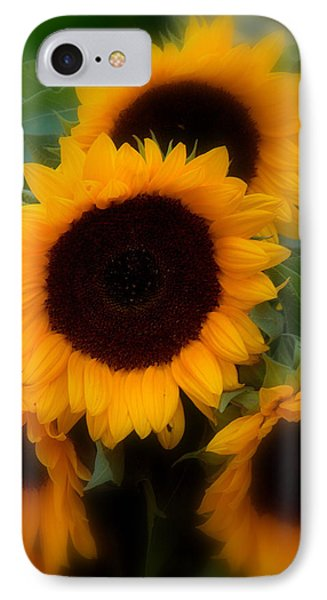 IPhone Case featuring the photograph Sunflowers by Caroline Stella