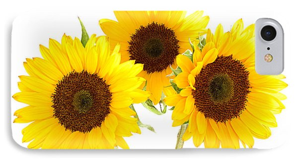 Sunflowers Phone Case by Claudio Bacinello