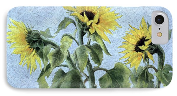 Sunflowers IPhone Case by Cristiana Angelini