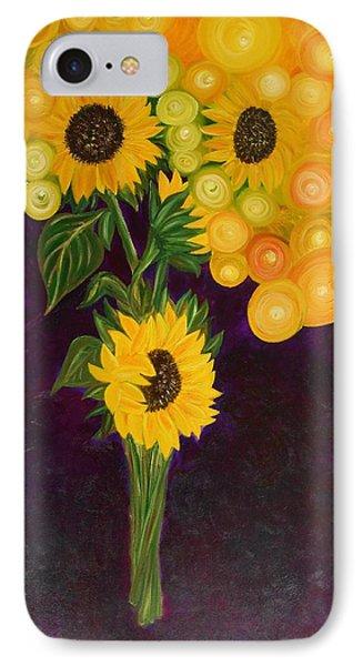 Sunflower's Dream IPhone Case