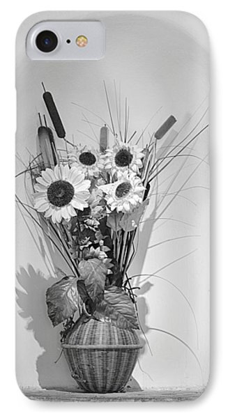 Sunflowers In A Basket IPhone Case by Christine Till