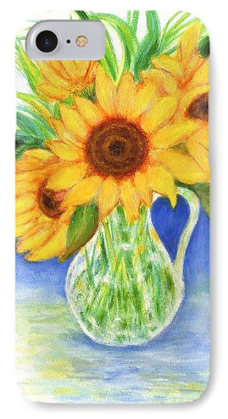 Sunflowers IPhone Case by Jeanne Kay Juhos