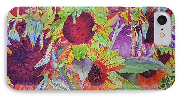 Sunflowers Phone Case by Joshua Morton