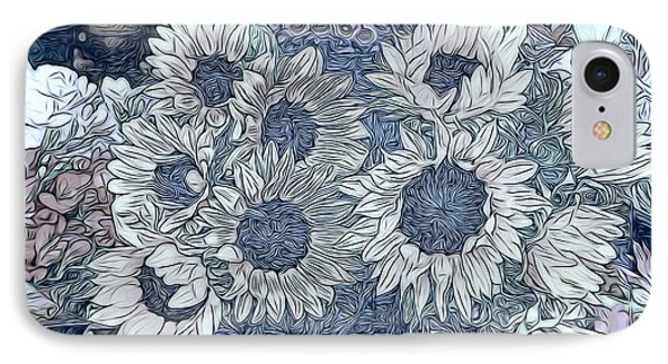 Sunflowers Paris IPhone Case by Jack Torcello