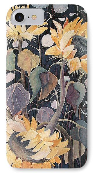 Sunflowers' Symphony IPhone Case by Marina Gnetetsky