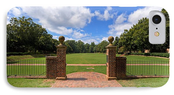 IPhone Case featuring the photograph Sunken Garden At William And Mary by Jerry Gammon