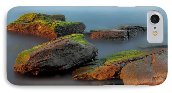 Sunkissed Rocks IPhone Case by Jacqui Boonstra