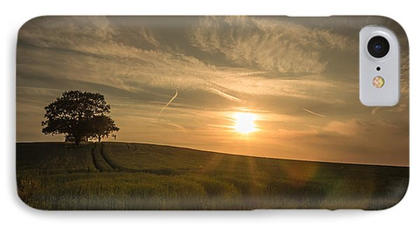 Sunlight Across The Crops IPhone Case