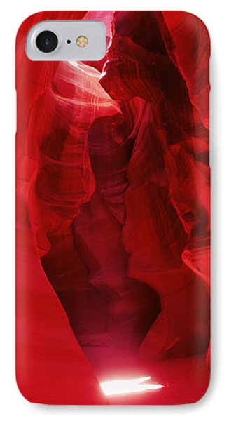 Sunlight Passing Through Rock IPhone Case by Panoramic Images
