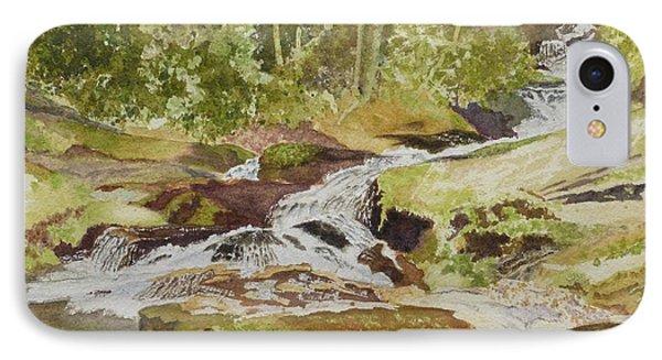 Sunlight Rocks And Water  II  IPhone Case by Joel Deutsch