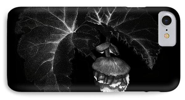 Sunlit Begonia IPhone Case by Sandra LaFaut