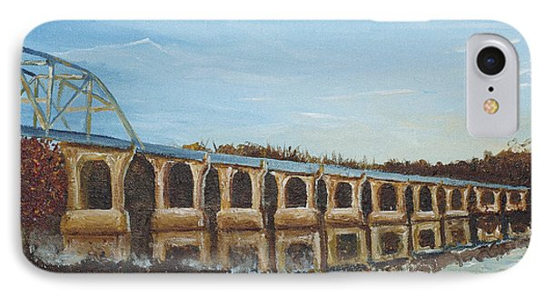 Sunlit Bridge Phone Case by Monica Veraguth