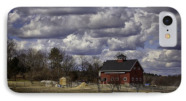 Sunlit Farm IPhone Case by Betty Denise