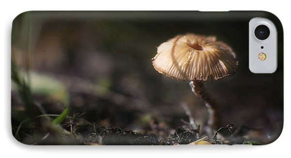 Sunlit Mushroom IPhone Case by Scott Norris