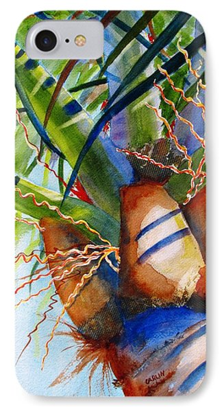 Sunlit Palm IPhone Case by Carlin Blahnik
