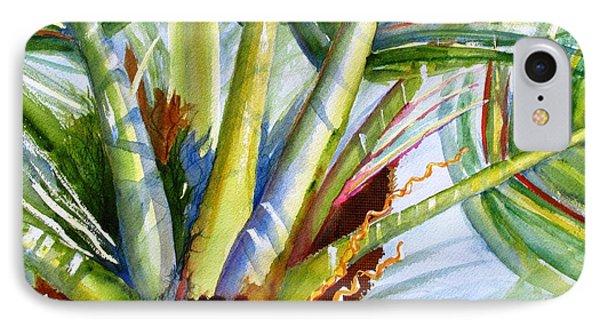 Sunlit Palm Fronds IPhone Case by Carlin Blahnik