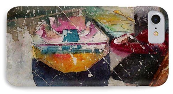 Sunlit Rowboat IPhone Case