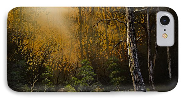 Sunlit Trail IPhone Case by C Steele