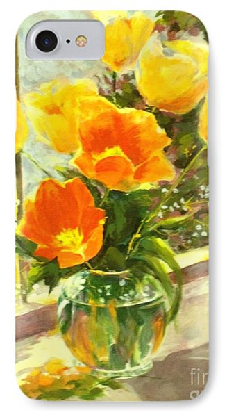 Sunlit Tulips Phone Case by Madeleine Holzberg