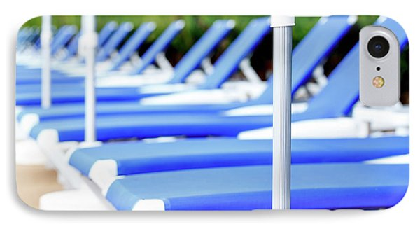 Sunloungers In A Row IPhone Case by Wladimir Bulgar