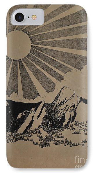 Sunny 300 Days A Year IPhone Case